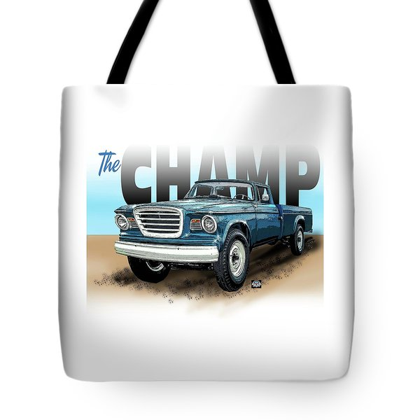 The Champ Tote Bag