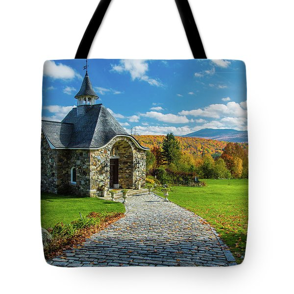 The Chapel Tote Bag