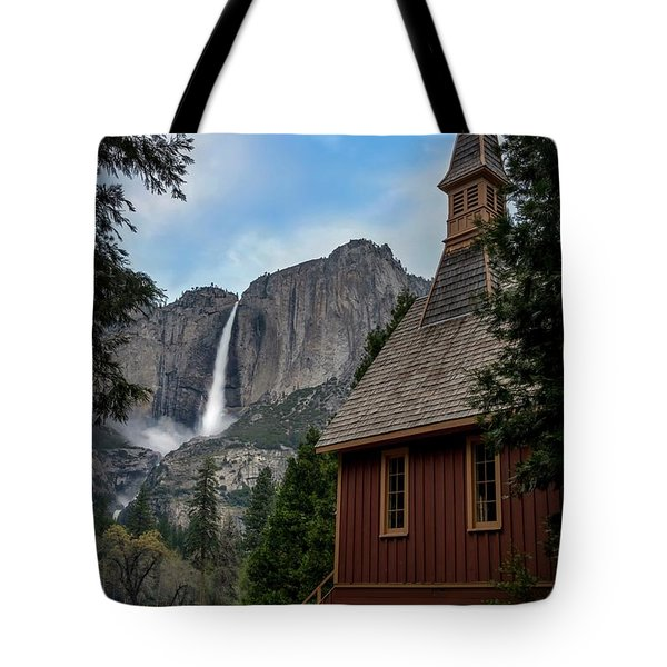 The Chapel Tote Bag by Sean Foster
