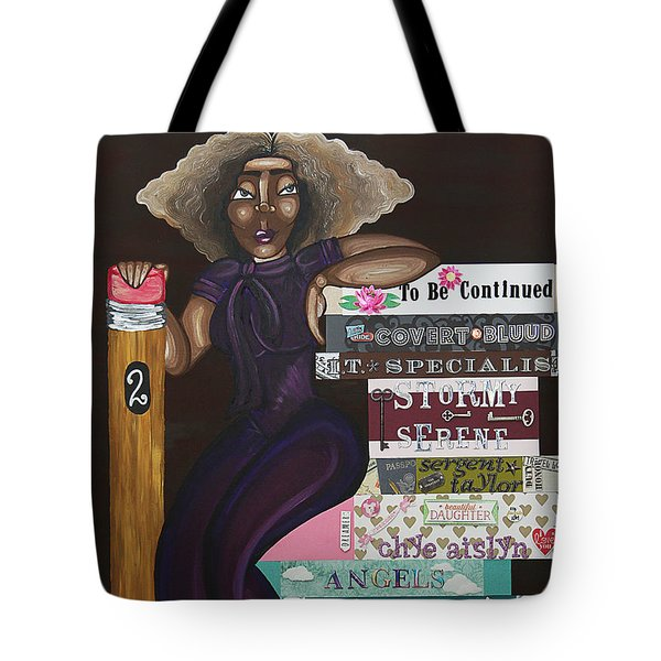 The Chapters Of My Life Tote Bag