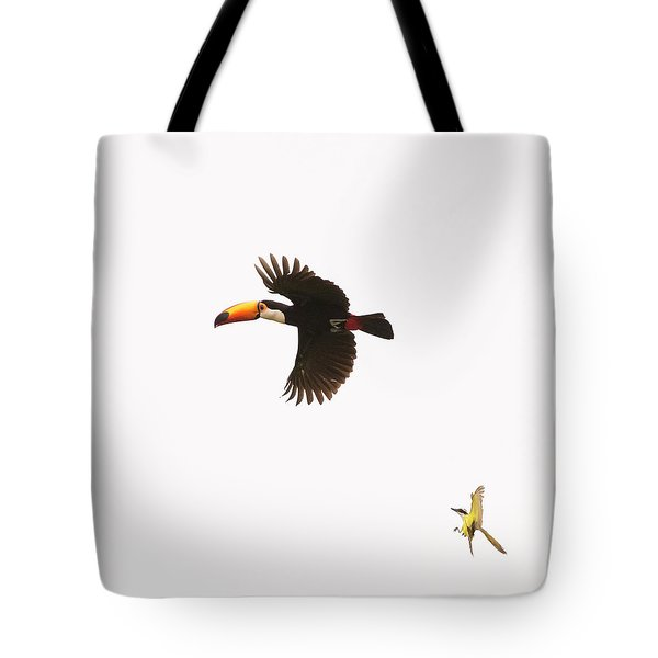 Tote Bag featuring the photograph The Chase by Alex Lapidus