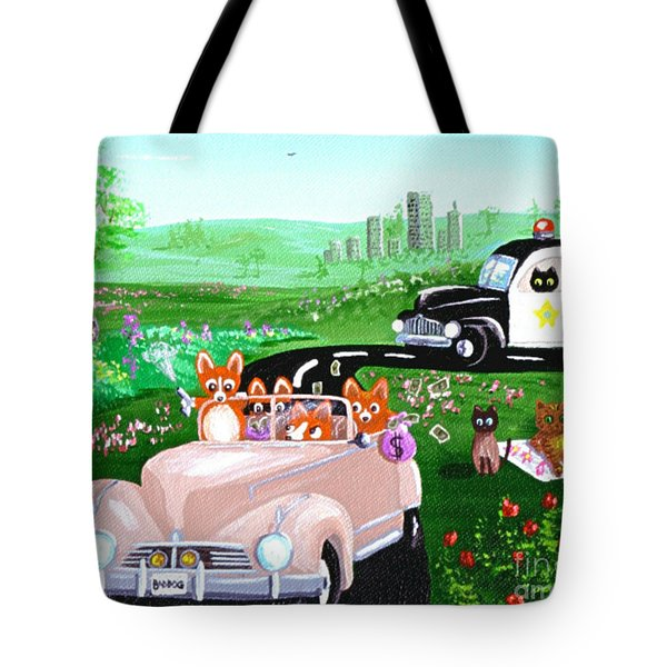 The Chase Tote Bag by Lisa  Adams