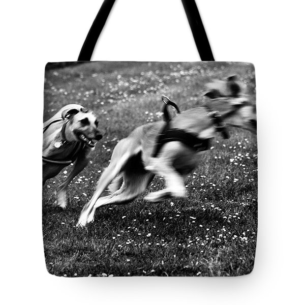 The Chasing Game. Ava Loves Being Tote Bag