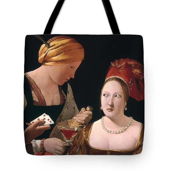 The Cheat With The Ace Of Diamonds Tote Bag by Georges de la Tour
