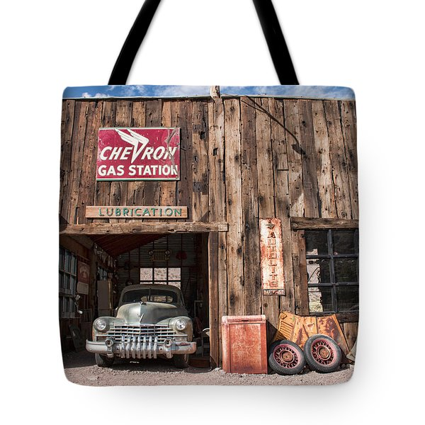 The Chevron Station  Tote Bag