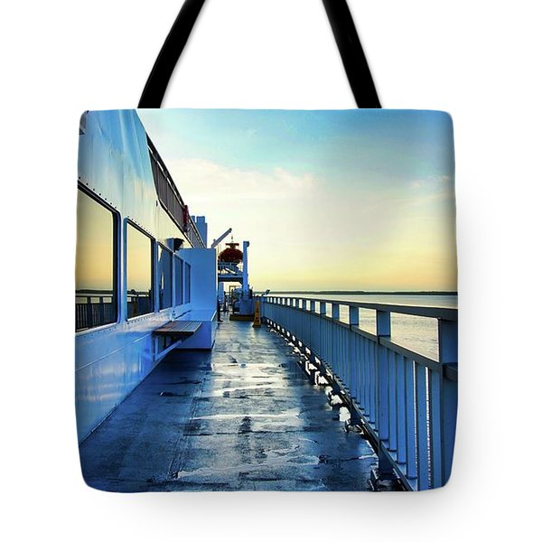 The Chi-cheemaun Tote Bag