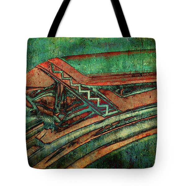 Tote Bag featuring the digital art The Chief by Greg Sharpe