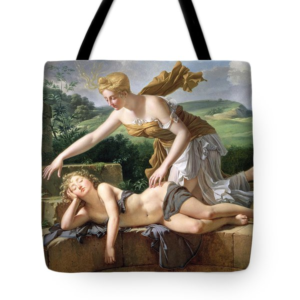 The Child Of Fortune Tote Bag by Pierre Bouillon