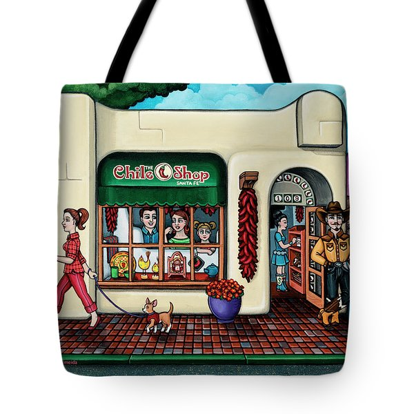 The Chile Shop Santa Fe Tote Bag