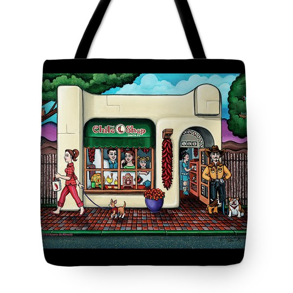 The Chile Shop Santa Fe Tote Bag