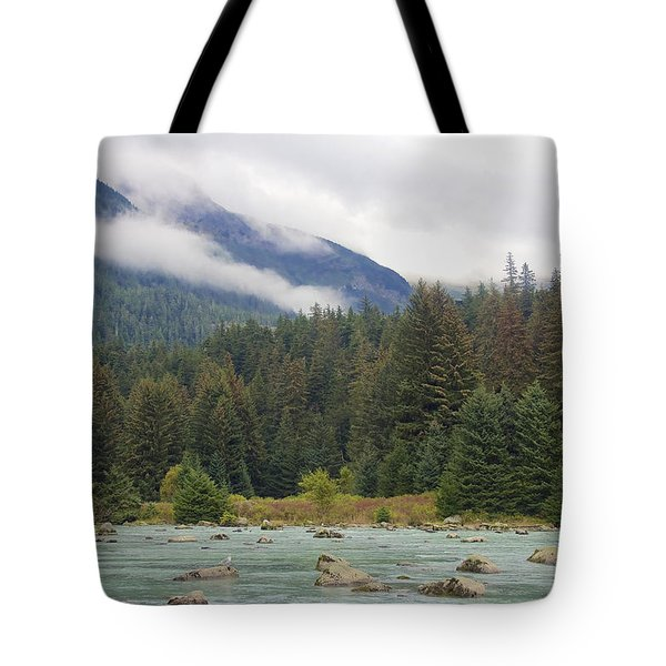 The Chillkoot River 2 Tote Bag