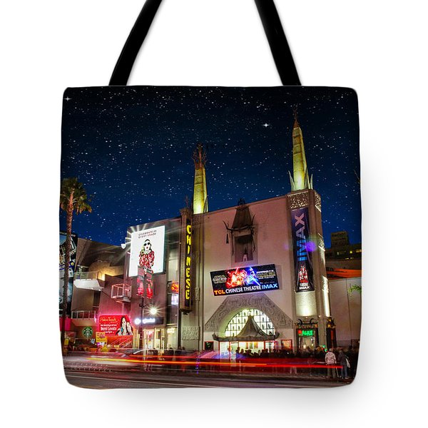 The Chinese Theater 2 Tote Bag by Robert Hebert