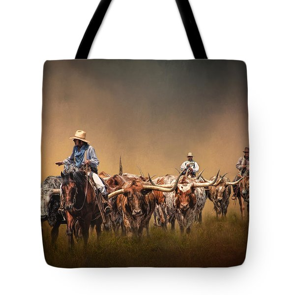 The Chisolm Trail Tote Bag