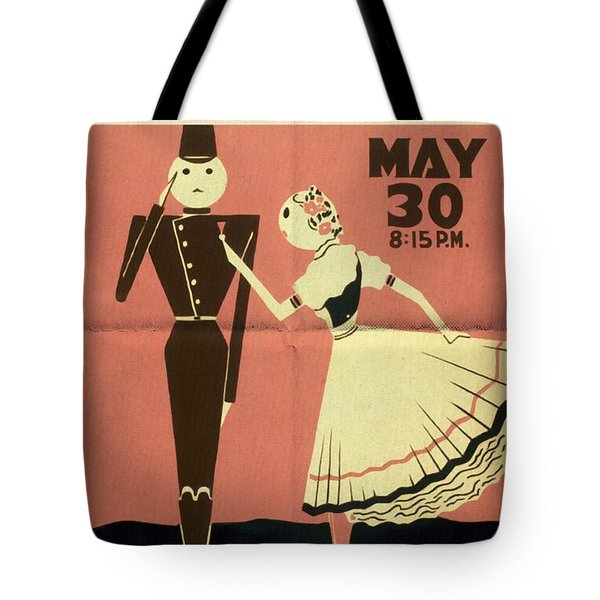 The Chocolate Soldier - Vintage Poster Folded Tote Bag