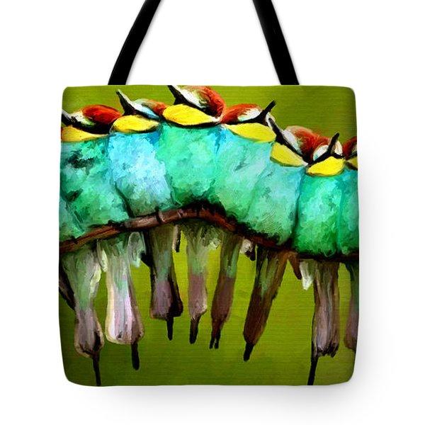 The Choir Tote Bag by James Shepherd