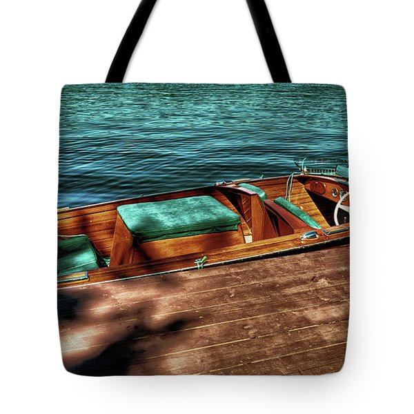 The Chris Craft Continental - 1958 Tote Bag