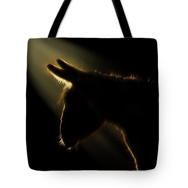 The Christmas Donkey Tote Bag