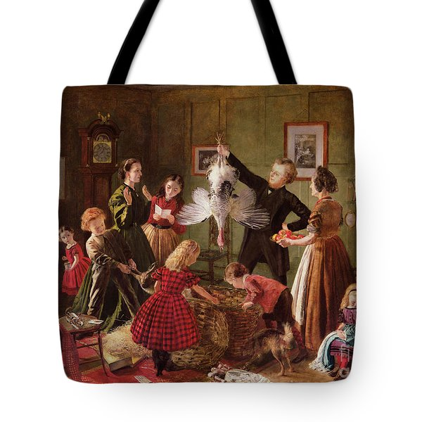 The Christmas Hamper Tote Bag