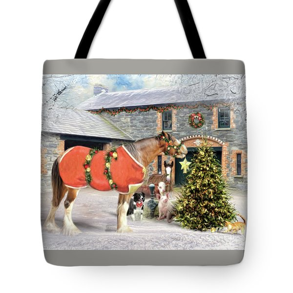 The Christmas Star Tote Bag