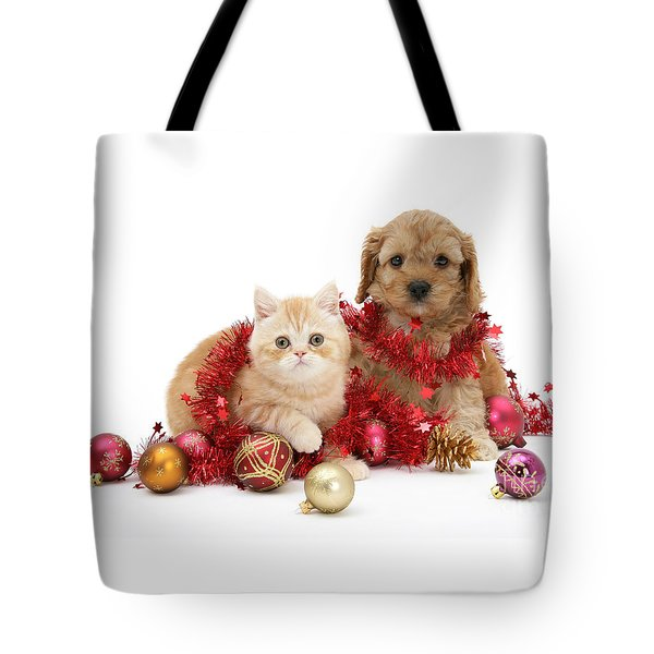 The Christmas Tree Destroyers Tote Bag