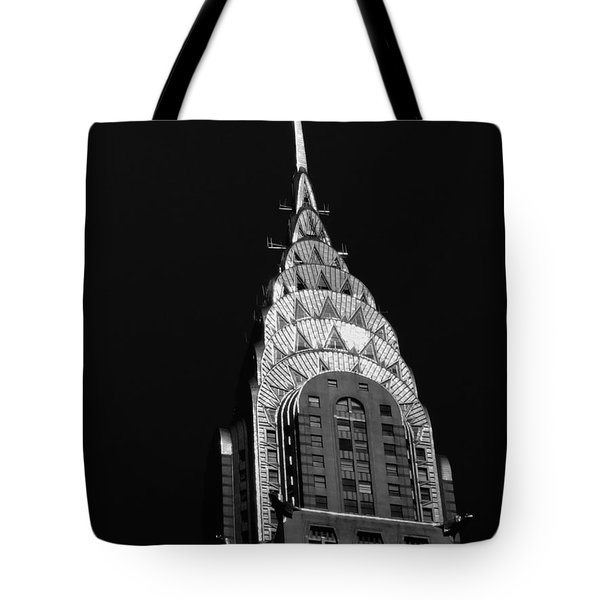 The Chrysler Building Tote Bag by Vivienne Gucwa