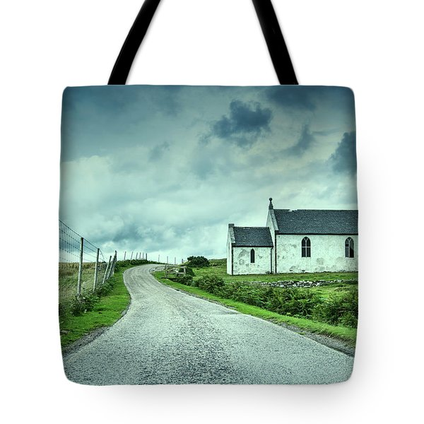 The Church In The Highlands Tote Bag