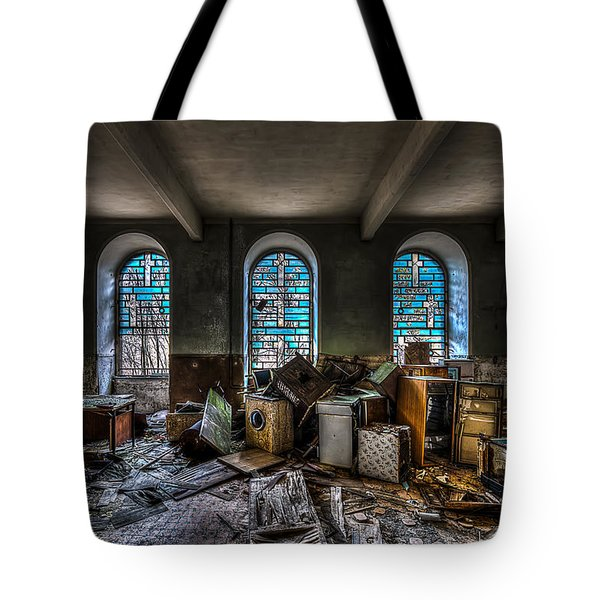 Tote Bag featuring the photograph The Church - La Chiesa by Enrico Pelos