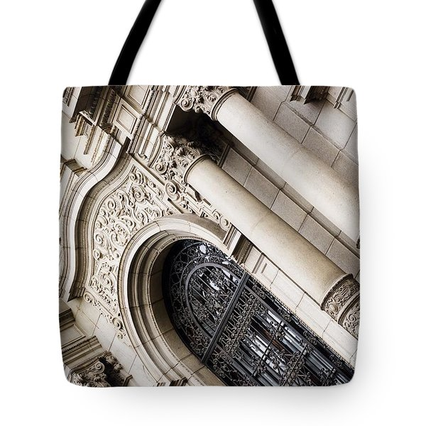 The Church Of San Francisco Tote Bag