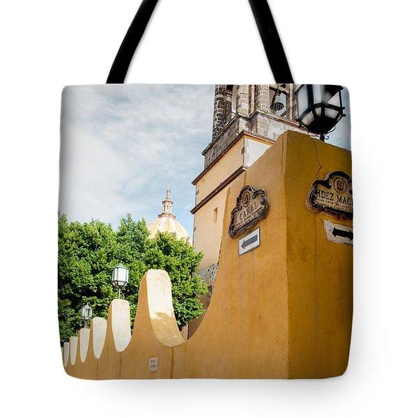 The Church Wall Tote Bag