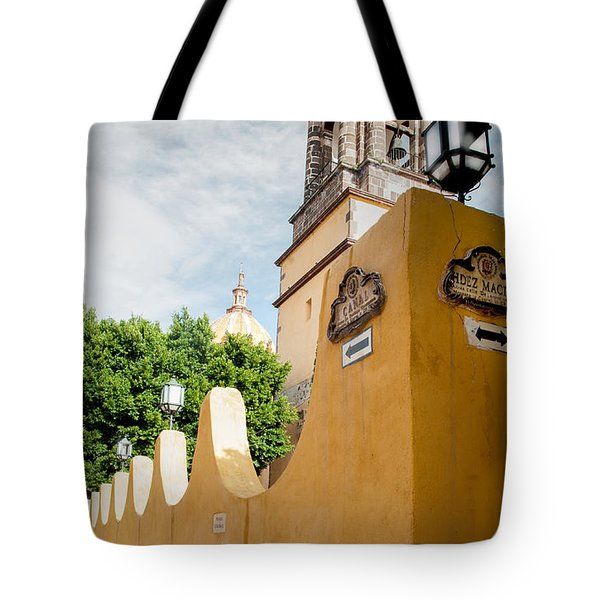 The Church Wall Tote Bag