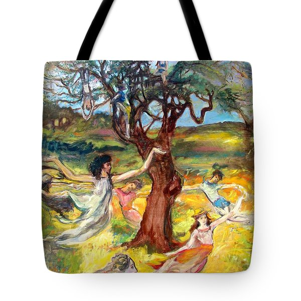 the Cinnamon Tree Tote Bag