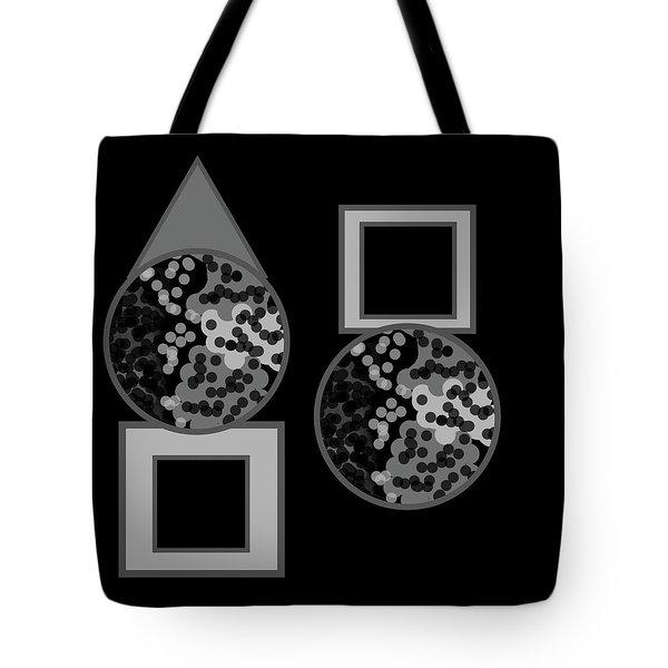 The Circular Motions Of Shadows Tote Bag