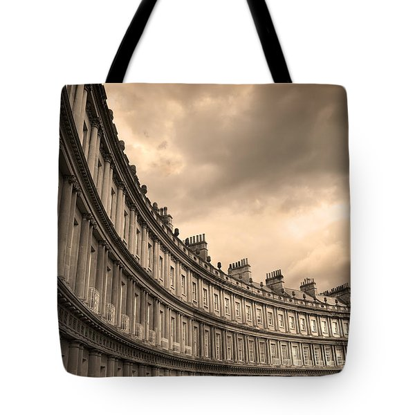 The Circus Bath England  Tote Bag