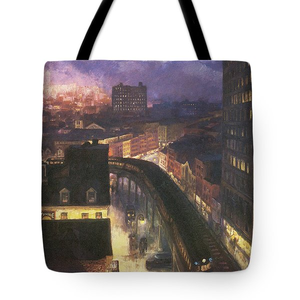 The City From Greenwich Village Tote Bag