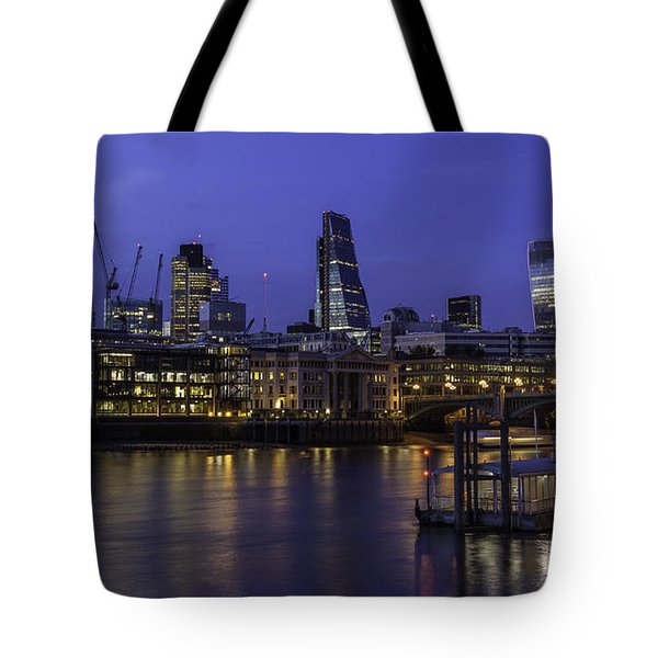 The City From The Southbank Tote Bag