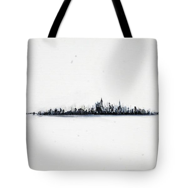 The City New York Tote Bag