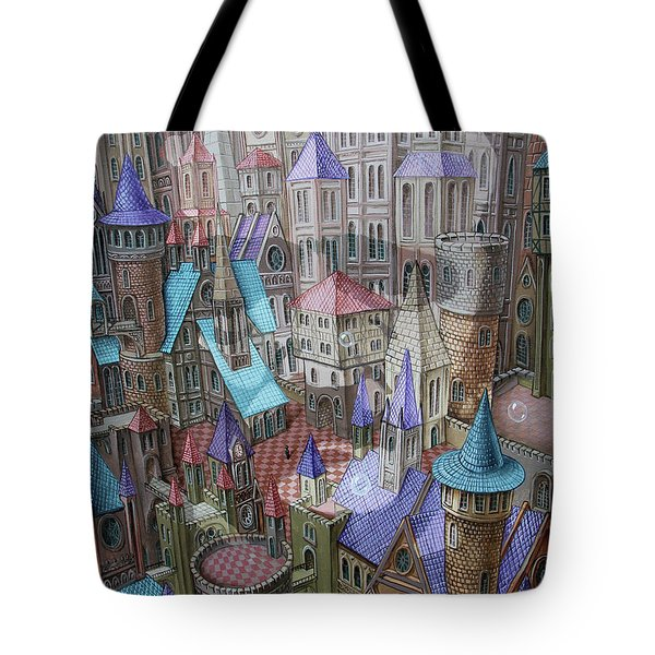 The City Of Crow Tote Bag