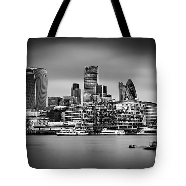 The City Of London Mono Tote Bag