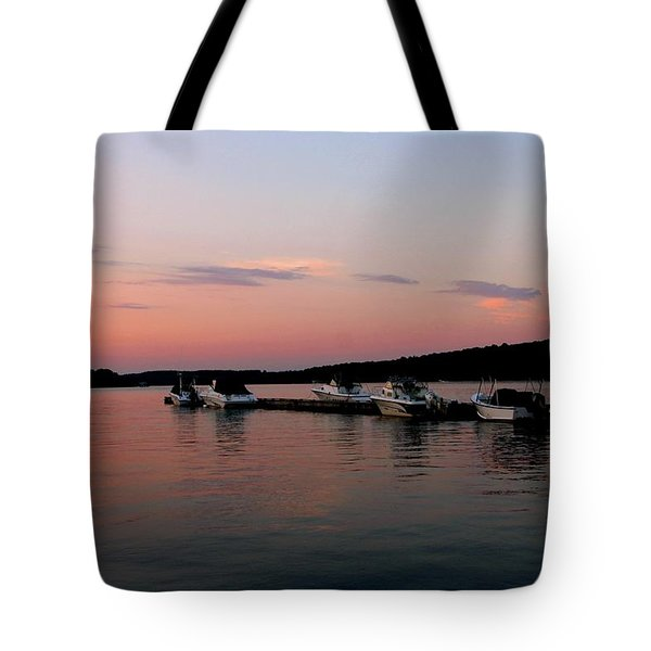 The City Of Ships Tote Bag