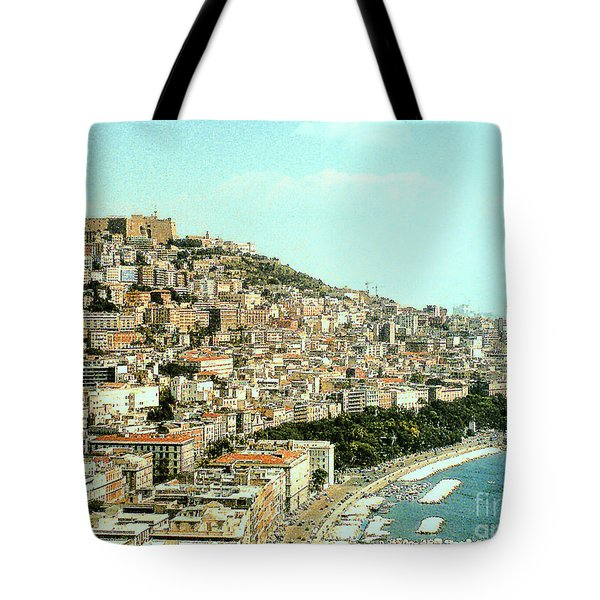 Tote Bag featuring the photograph The City Of Sorrento, Italy by Merton Allen