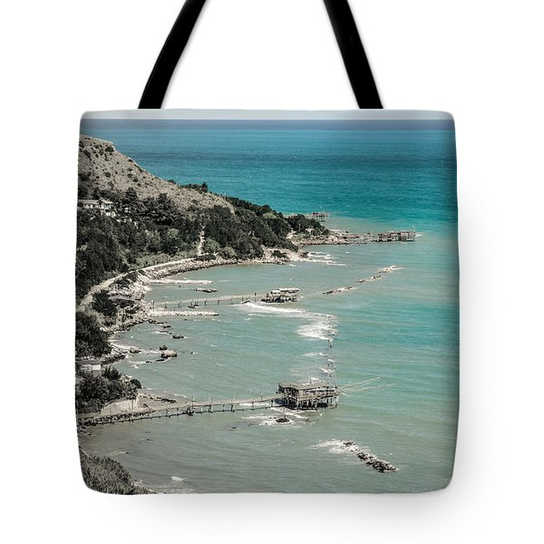 The City Of Waves Tote Bag by Andrea Mazzocchetti
