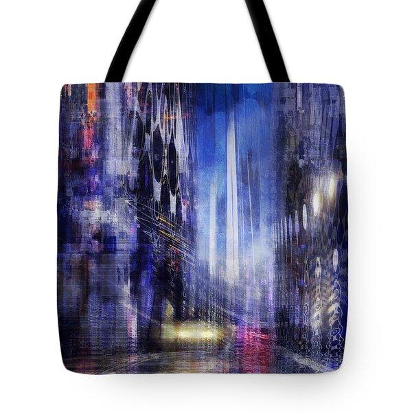The City Rhythm IIi Tote Bag