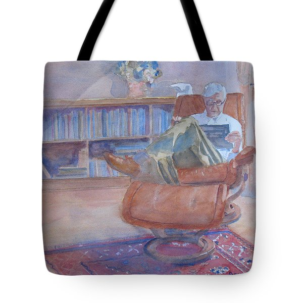 The Civilized Engineer Tote Bag by Jenny Armitage
