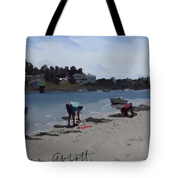 The Clam Diggers Tote Bag