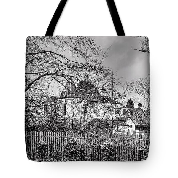 Tote Bag featuring the photograph The Claremont by Jeremy Lavender Photography