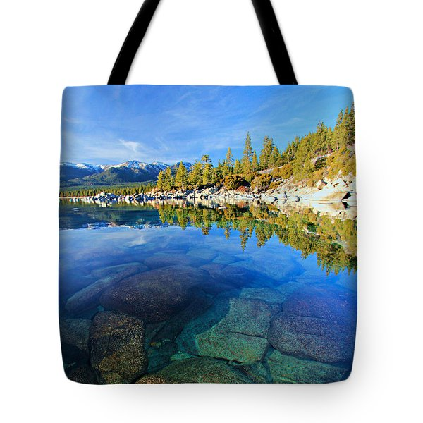 The Clarity Of Lake Tahoe Tote Bag