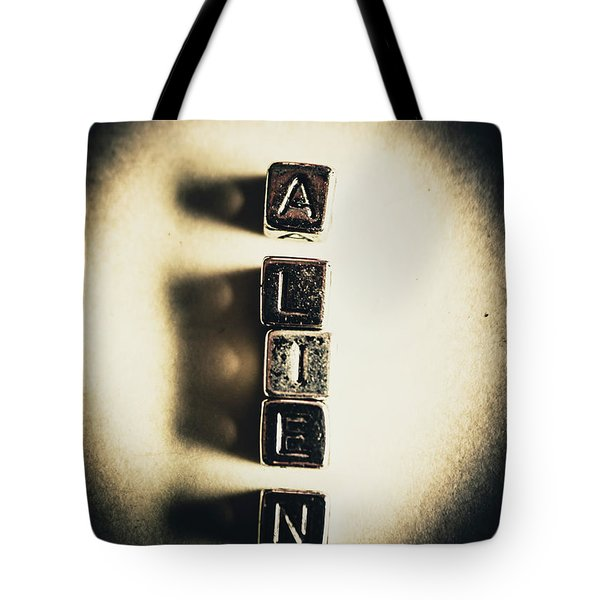 The Classified Alien Lie Tote Bag