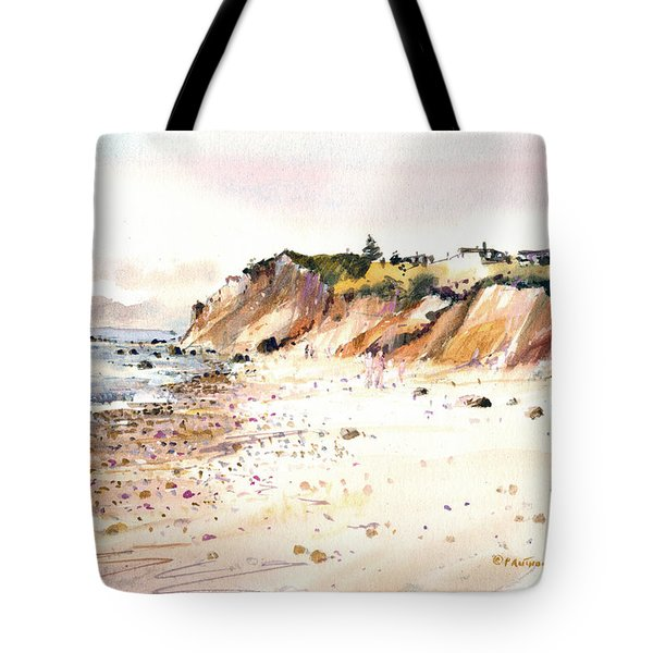 The Cliffs Of Aquinnah Tote Bag