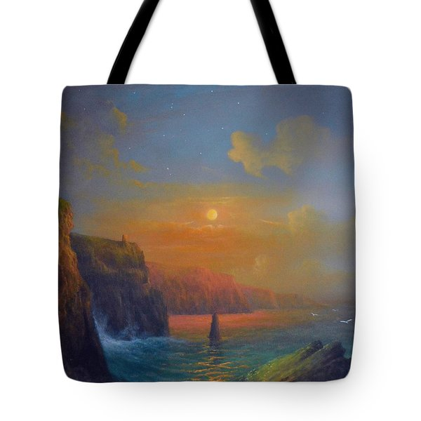 Ireland The Cliffs Of Moher  Tote Bag by Joe Gilronan