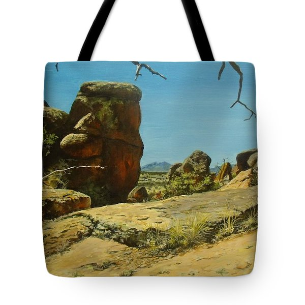 The Climb Up Tote Bag